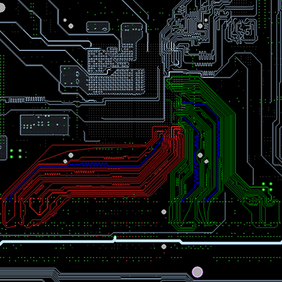 PCB model extraction for DDR